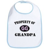 Property Of Grandpa Baby Bib