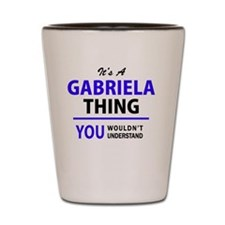 Cute Gabriela Shot Glass