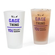 Unique Gage Drinking Glass