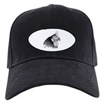 LaFleche Rooster Head Black Cap