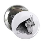LaFleche Rooster Head Button