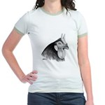 LaFleche Rooster Head Jr. Ringer T-Shirt