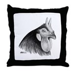 LaFleche Rooster Head Throw Pillow
