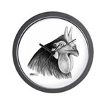 LaFleche Rooster Head Wall Clock