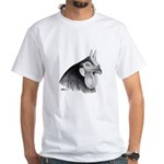 LaFleche Rooster Head White T-Shirt