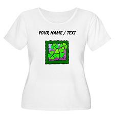 Custom Four Leaf Clovers Plus Size T-Shirt