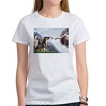 Creation / 2 Dobies Women's T-Shirt