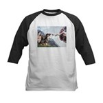 Creation / 2 Dobies Kids Baseball Jersey