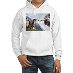 Creation / 2 Dobies Hooded Sweatshirt
