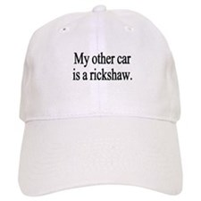 My other car is a rickshaw Baseball Cap