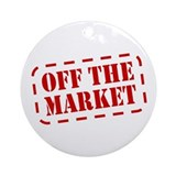 Off the Market Ornament (Round)