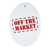 Off the Market Oval Ornament