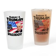 Truman 4ever Drinking Glass