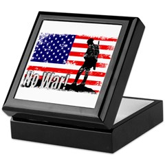 No War Keepsake Box
