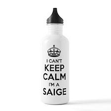 Funny Saige Water Bottle