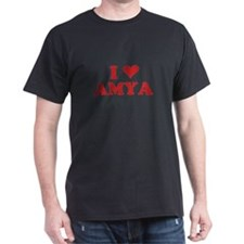I LOVE AMYA T-Shirt