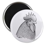 Plymouth Rock Rooster Magnet