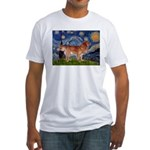 Starry / Nova Scotia Fitted T-Shirt
