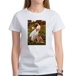 Wind Flowers & Nova Scotia Women's T-Shirt