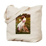 Wind Flowers & Nova Scotia Tote Bag
