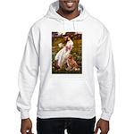 Wind Flowers & Nova Scotia Hooded Sweatshirt