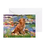 Lilies / Nova Scotia Greeting Cards (Pk of 10)
