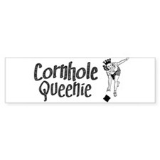 Cornhole Queenie Bumper Sticker