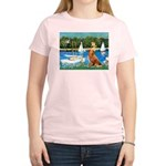 Sailboats / Nova Scotia Women's Light T-Shirt