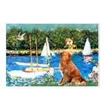 Sailboats / Nova Scotia Postcards (Package of 8)