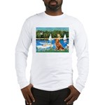 Sailboats / Nova Scotia Long Sleeve T-Shirt