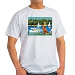 Sailboats / Nova Scotia Light T-Shirt