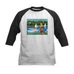 Sailboats / Nova Scotia Kids Baseball Jersey