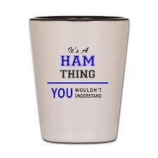 Unique Ham Shot Glass