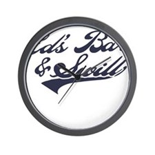 Ed's Bar & Swill Wall Clock