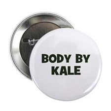 "body by kale 2.25"" Button (100 pack)"