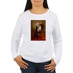 Lincoln's Corgi Women's Long Sleeve T-Shirt