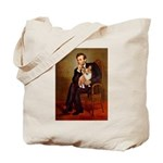 Lincoln's Corgi Tote Bag