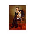 Lincoln's Corgi Sticker (Rectangle)