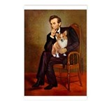 Lincoln's Corgi Postcards (Package of 8)