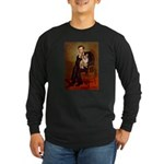 Lincoln's Corgi Long Sleeve Dark T-Shirt
