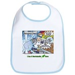 Sustainable Hero Comic Bib