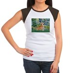 Bridge / Corgi Women's Cap Sleeve T-Shirt