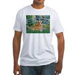 Bridge / Corgi Fitted T-Shirt