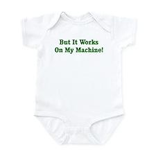Cute Dance blog Infant Bodysuit