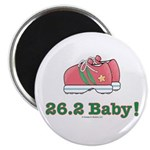 26.2 Baby Marathon Running Shoes Magnet 100 pack