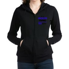 Cute Jocelyn Women's Zip Hoodie