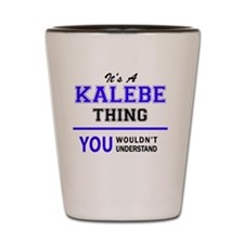 Unique Kaleb Shot Glass