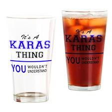 Unique Kara Drinking Glass