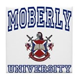 MOBERLY University Tile Coaster