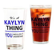 Cute Kaylyn Drinking Glass